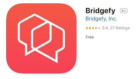 Bridgefyアプリの画面